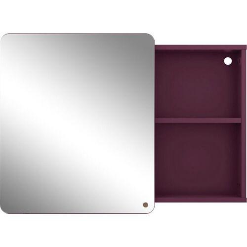 TOM TAILOR Spiegelschrank »COLOR BATH« mit Spiegel-Schiebetür, Breite 80 cm, plum