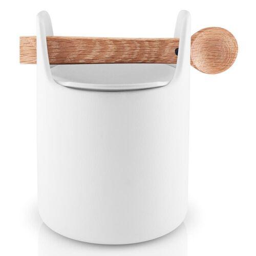 Eva Solo Aufbewahrungsbox »Toolbox mit Löffel Eiche/Keramik Weiß H 15 cm«, Keramik, (1-tlg)
