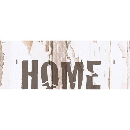 Home affaire Hakenleiste »Schlüsselbrett HOME«, (1 St)