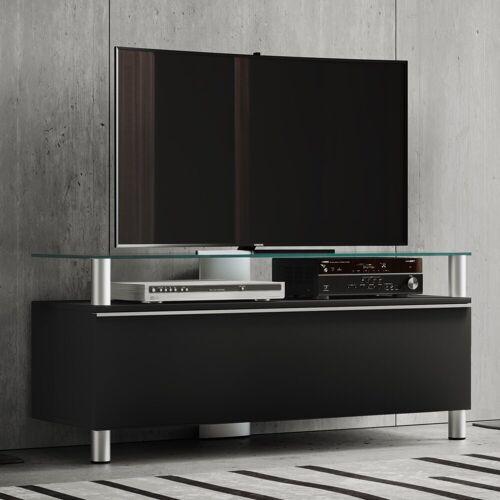 "VCM TV-Board »TV-Lowboard ""Clano""«, Schwarzlack"