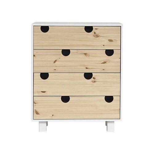 Karup Design Kommode »HOUSE Kommode mit 4 Schubladen, Weiß/«
