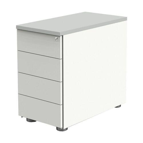 KERKMANN Container, Rollcontainer »Move 1« mit 4 Schubladen und Zentralverschluss
