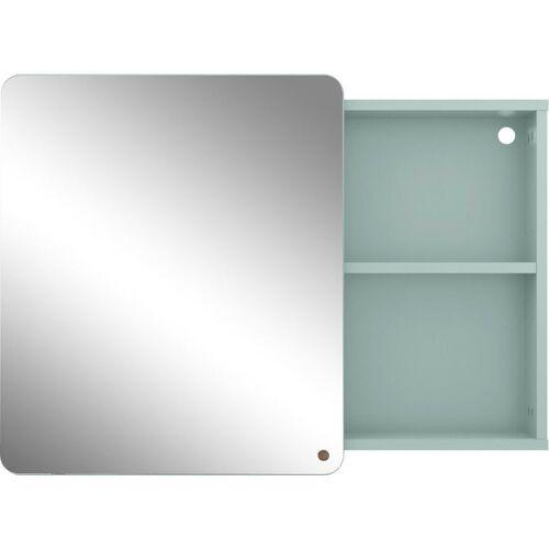 TOM TAILOR Spiegelschrank »COLOR BATH« mit Spiegel-Schiebetür, Breite 80 cm, sage