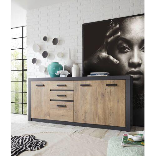 my home Sideboard »Brügge«, Mit einer dekorativen Rahmenoptik