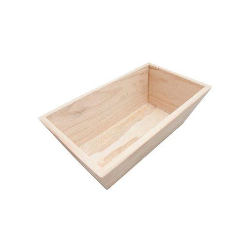 HTI-Line Holzkiste »Holzkästchen Linnea ohne Griff«, Aufbewahrungskiste