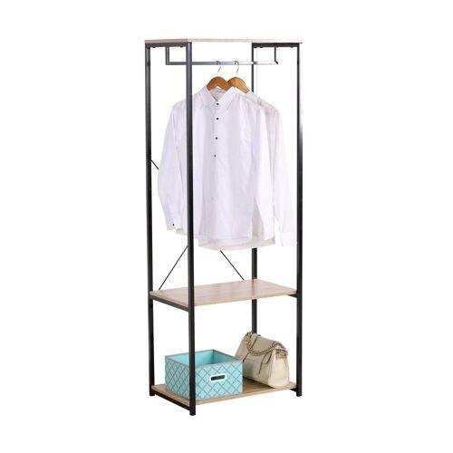 HTI-Line Kleiderschrank »Begehbarer Kleiderschrank Mona M« Pflegeleichte Oberflächen