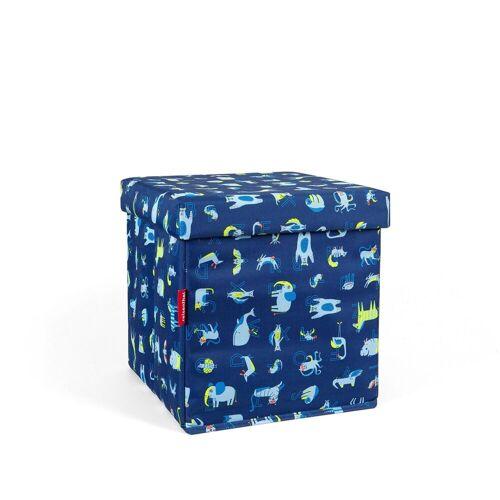 REISENTHEL® Sitzwürfel »Sitzbox Kids Sitzbox Kids«, abc friends blue