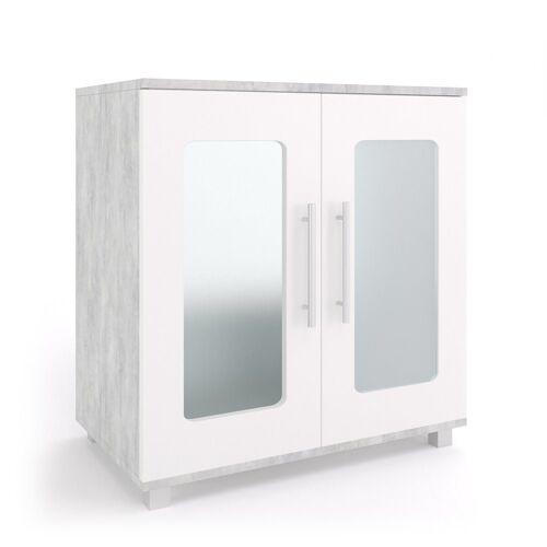 Vicco Waschbeckenunterschrank »Waschtischunterschrank Rayk Unterschrank Waschbecken Waschtisch Bad Beton«
