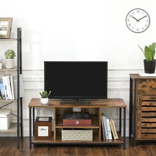 VASAGLE Lowboard »LTV39BX«, TV-Lowboard mit offenen Fächern, 110 x 40 x 50 cm, vintage
