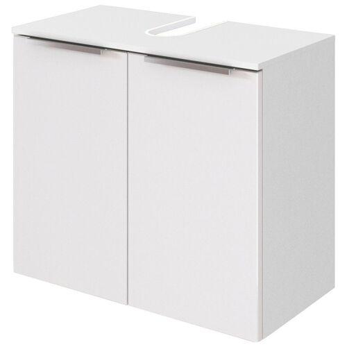 HELD MÖBEL Waschbeckenunterschrank »Matera« Breite 60 cm, mit hochwertigen matten MDF-Fronten, weiß