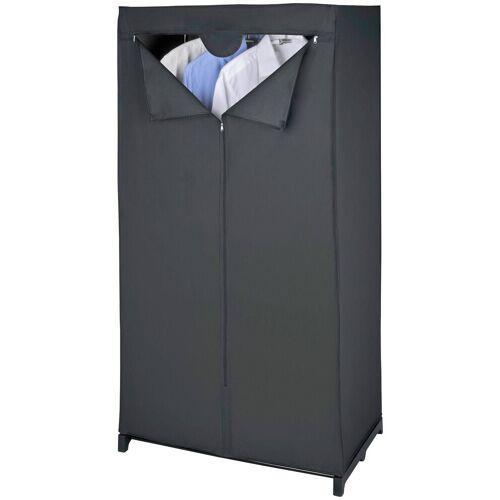 WENKO Kleiderschrank »Kleiderschrank Deep Black «, schwarz