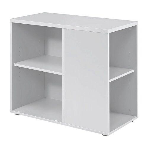 HAMMERBACHER Container, Rollcontainer »Flexiline II« für ca. 18 Ordner (Ordnerbreite: 8 cm), weiß