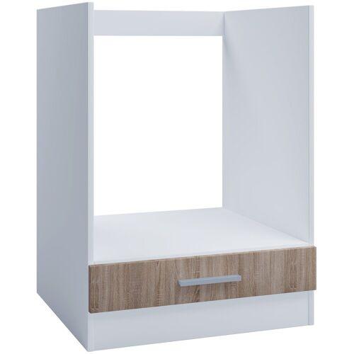 VCM Backofenumbauschrank »Ofenschrank für Einbauherd 60cm Sonoma Eiche«