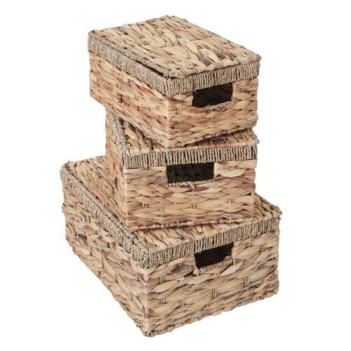 MCW Aufbewahrungsbox »-C23« (Set, 3 Stück, 3er-Set), 3er-Set, Ineinander stapelbar