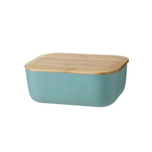 Stelton Butterdose »RIG-TIG BOX-IT Butterdose, dusty green«, Melamin, Bambus