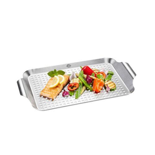 GEFU Grillpfanne »BBQ groß 89258«, Edelstahl (1-tlg)