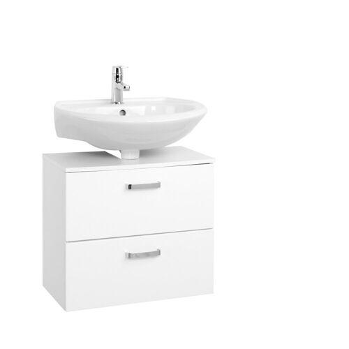 HELD MÖBEL Waschbeckenunterschrank Breite 60 cm, weiß
