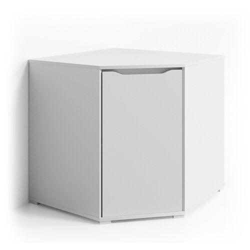 Vicco Eckkommode »Eck Kommode RUBEN Weiß Sideboard Mehrzweckschrank Schrank Kleiderschrank«