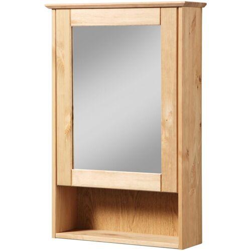 welltime Spiegelschrank »Venezia Landhaus« Breite 42 cm, mit Spiegeltüren, natur