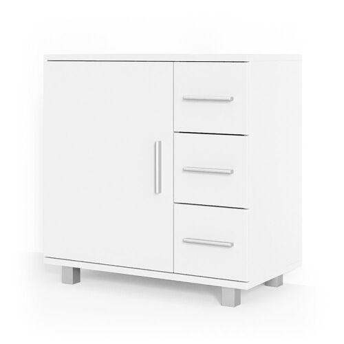Vicco Waschbeckenunterschrank »ILIAS Weiß Waschtisch Unterschrank Badezimmer«