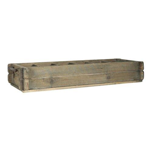 Ib Laursen Holzkiste »Laursen - Holzkiste 12 Fächer 5239-14 Besteckkasten Köcher Kiste Box Holz Shabby«