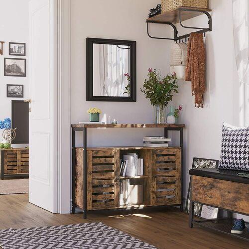 VASAGLE Sideboard »LSC79BX«, Beistellschrank, Küchenschrank, vintage