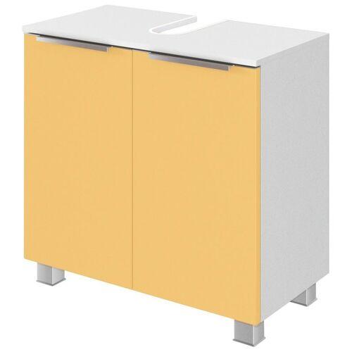 HELD MÖBEL Waschbeckenunterschrank »Matera« Breite 60 cm, mit hochwertigen matten MDF-Fronten, gelb