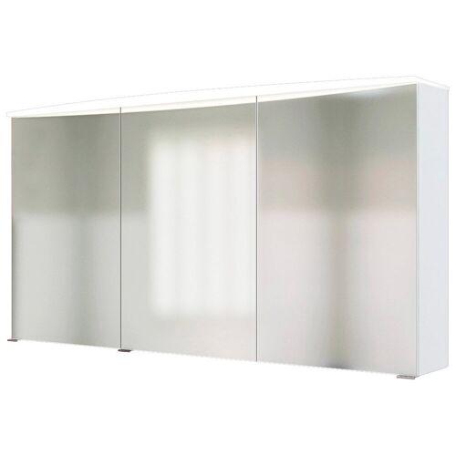 HELD MÖBEL Spiegelschrank »Florida« Breite 120 cm, mit Spiegeltüren und Türendämpfern, weiß