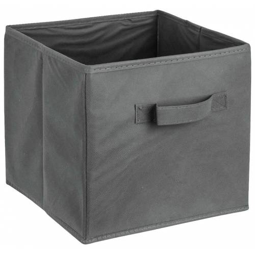 ADOB Aufbewahrungsbox »Faltbox«, Faltbox mit Griff, dunkelgrau