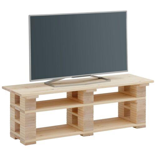 Home affaire Lowboard »Pinus«, im angesagten Palettendesign, natur