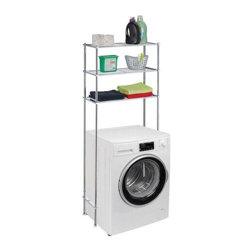 relaxdays Waschmaschinenumbauschrank »Waschmaschinenregal Metall«