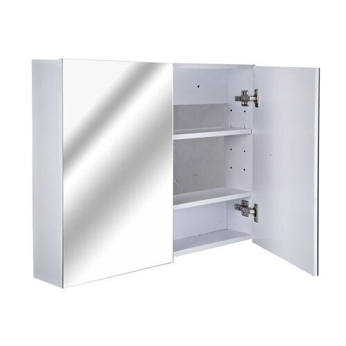 HOMCOM Spiegelschrank »Badspiegelschrank zur Wandmontage«