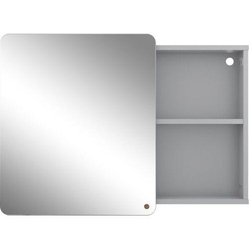 TOM TAILOR Spiegelschrank »COLOR BATH« mit Spiegel-Schiebetür, Breite 80 cm, grey