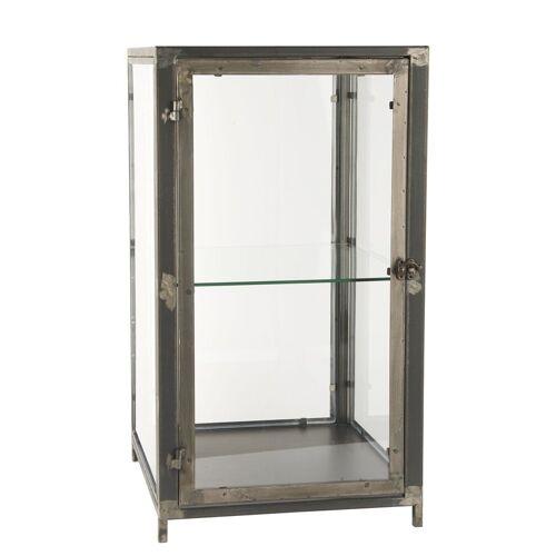 Ib Laursen Wandregal »Glasschrank Glasvitrine Vitrine Regal Schränkchen Glas Metall Laursen 31006-25«