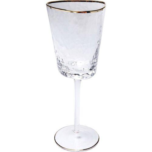 KARE Glas »Weissweinglas Hommage«, Glas