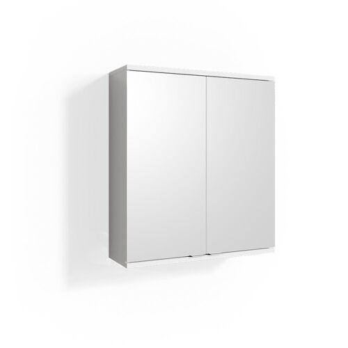 Vicco Badezimmerspiegelschrank »Spiegelschrank ROY 60 x 68 cm Weiß - Spiegel Badspiegel Bad Wandspiegel«