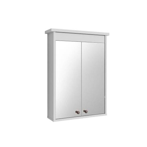 Vicco Badezimmerspiegelschrank »Spiegelschrank ALBATROS Weiß Spiegel Badspiegel Bad Wandspiegel Badezimmer«