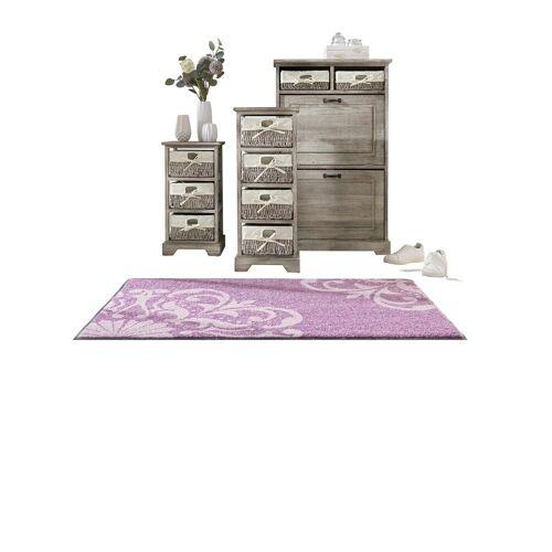 heine home Schuhschrank , inklusive Körbe, grau