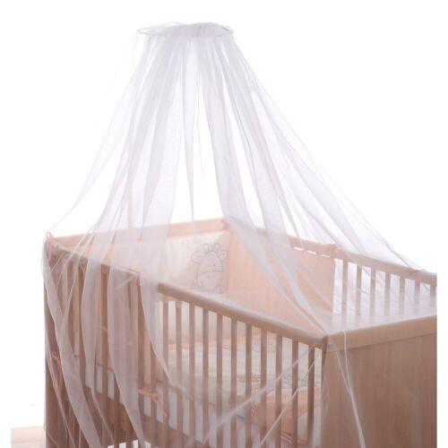 Alvi® Insektennetz für Kinderbett, weiß