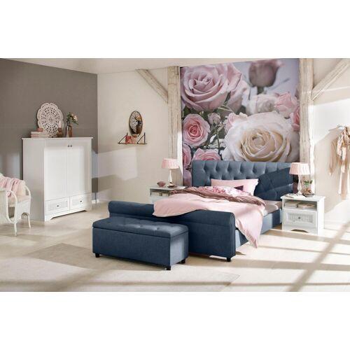 Home affaire Polsterbett »Goronna«, in 5 verschiedenen Farben und 4 Breiten, blau