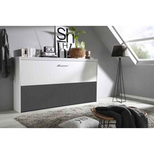 rauch ORANGE Schrankbett »Albero«, weiß-grau   weiß-grau