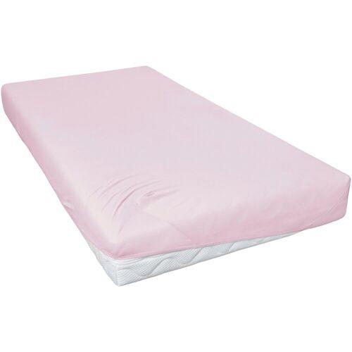 Primera Spannbettlaken »Feinjersey«, , für Kinderbetten, rosa