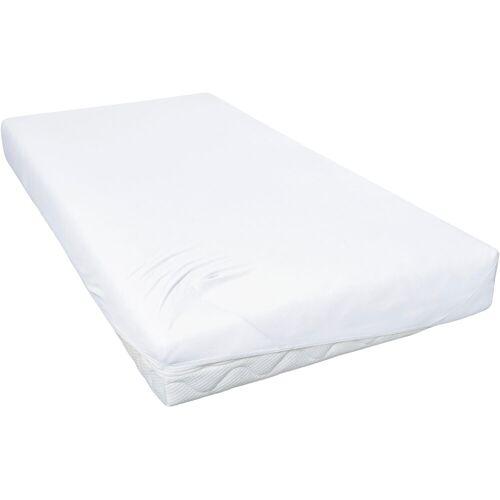 Primera Spannbettlaken »Feinjersey«, , für Kinderbetten, weiß