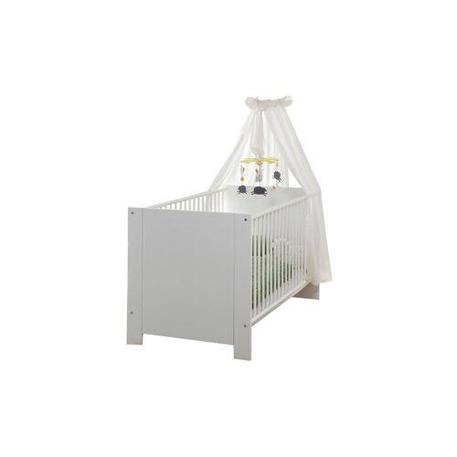 ebuy24 Kinderbett »Olja Kinderbett 70x140 cm, weiss.«