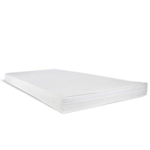 Homestyle4u Kindermatratze, , 12 cm hoch, Raumgewicht: 25, 90x200 cm Rollmatratze Schaumstoff Weiß