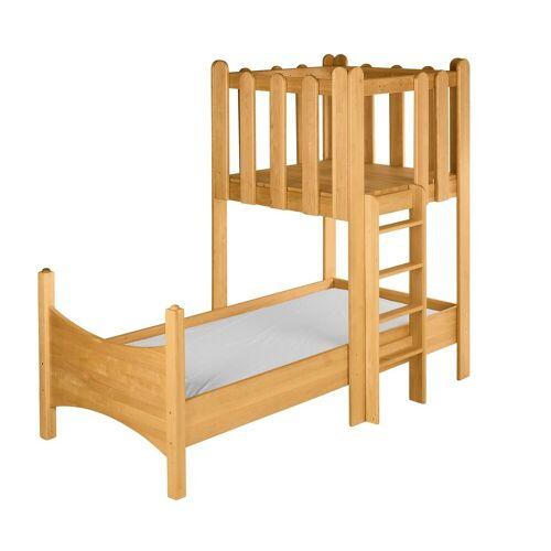 BioKinder - Das gesunde Kinderzimmer Kinderbett »Noah«, 90x200 cm mit Spielturm