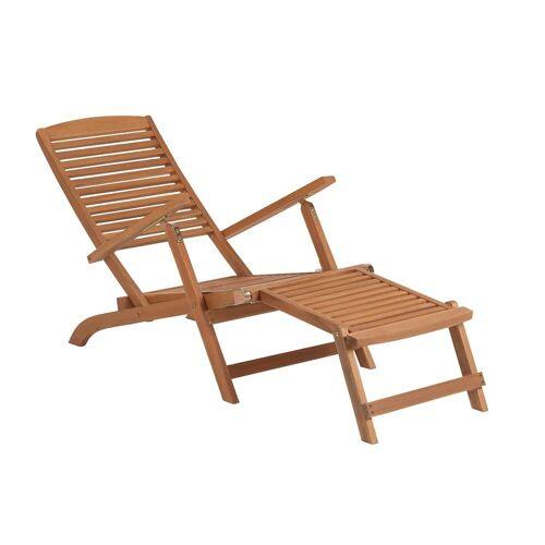 BUTLERS Gartenliege »WEEKENDER Liegestuhl mit Fußteil«
