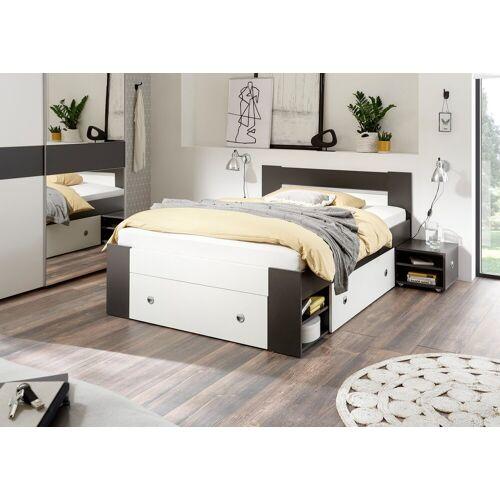 Bett »Linz«, mit ausziebaren Nachttischen und Schubkästen