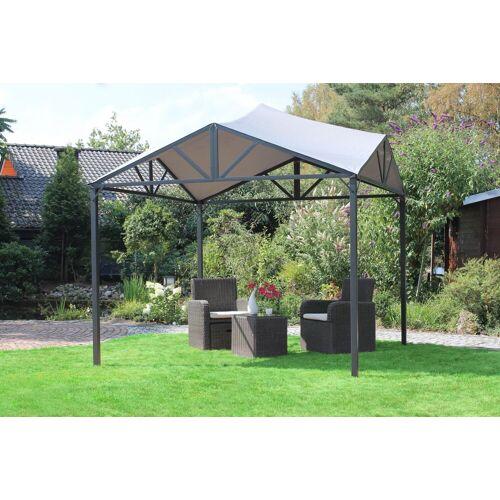 Leco Pavillon, Pavillon Jule Dach Terrasse Garten Überdachung Sonnenschutz Sonnendach