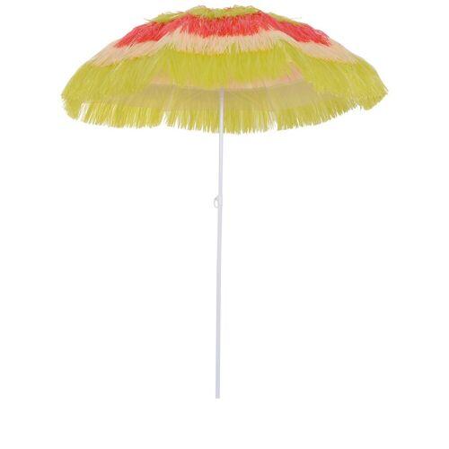 Outsunny Sonnenschirm »Hawaiischirm höhenverstellbar«, bunt